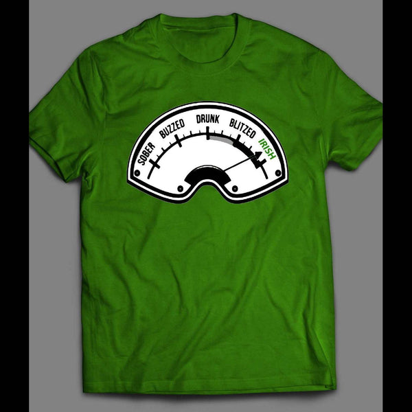 ST. PATTY'S DAY DRUNK IRISH ODOMETER SHIRT - Old Skool Shirts