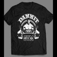 "STAR TREK'S DR. MCCOY ""DAMMIT GYM"" GYM SHIRT - Old Skool Shirts"