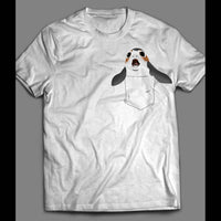 STAR WARS'S PORG A IN POCKET FUNNY T-SHIRT - Old Skool Shirts