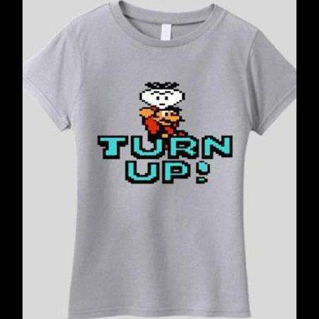 SUPER MARIO BROTHERS TURN UP SHIRT - Old Skool Shirts