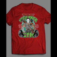 "TEENAGE MUTANT NINJA TURTLES PARODY ""VIGILANTE GYM"" SHIRT - Old Skool Shirts"