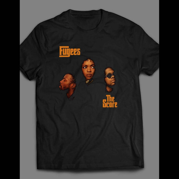 THE FUGEES THE SCORE ALBUM SHIRT - Old Skool Shirts