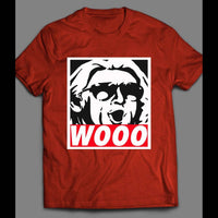 THE NATURE BOY RIC FLAIR OBEY STYLE SHIRT - Old Skool Shirts
