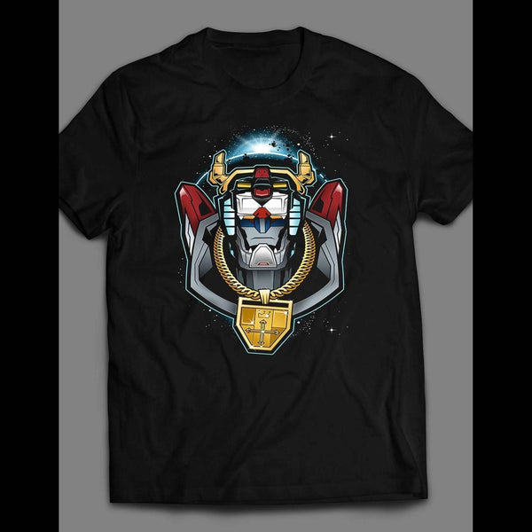 THE NOTORIOUS VOLTRON PARODY SHIRT - Old Skool Shirts