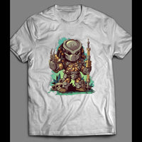 THE PREDATOR CARTOON MOVIE SHIRT - Old Skool Shirts