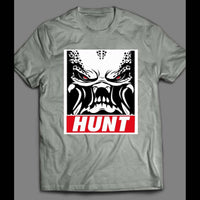 THE PREDATOR THE HUNT OBEY STYLE SHIRT - Old Skool Shirts