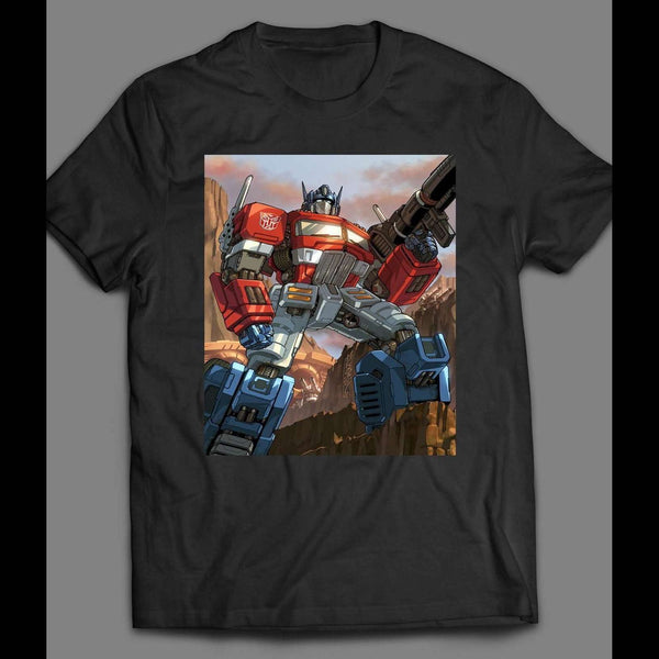 TRANSFORMER OPTIMUS PRIME SHIRT - Old Skool Shirts