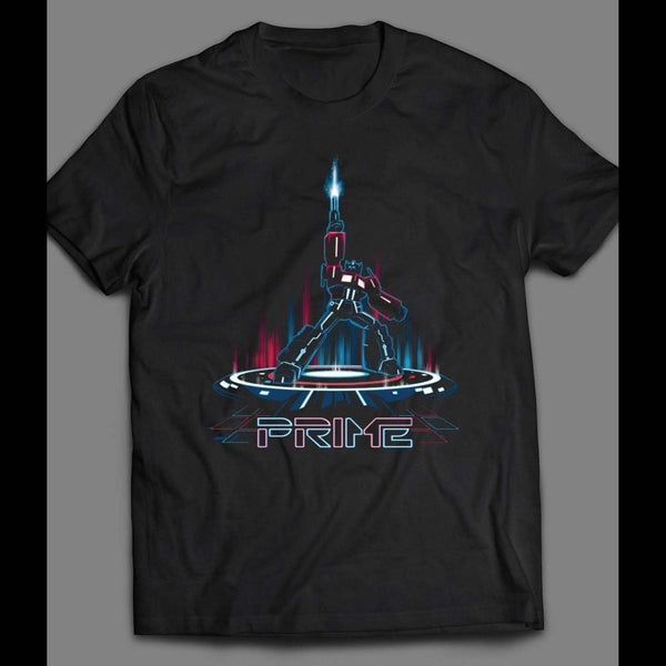 TRANSFORMER OPTIMUS PRIME TRON STYLE ART SHIRT - Old Skool Shirts