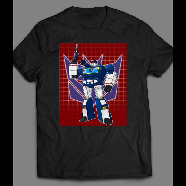 TRANSFORMER SOUNDWAVE SHIRT - Old Skool Shirts