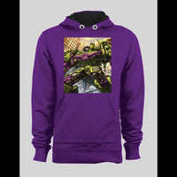 TRANSFORMERS DECEPTICON DEVASTATOR COMIC ART INSPIRED HOODIE / SWEATER - Old Skool Shirts