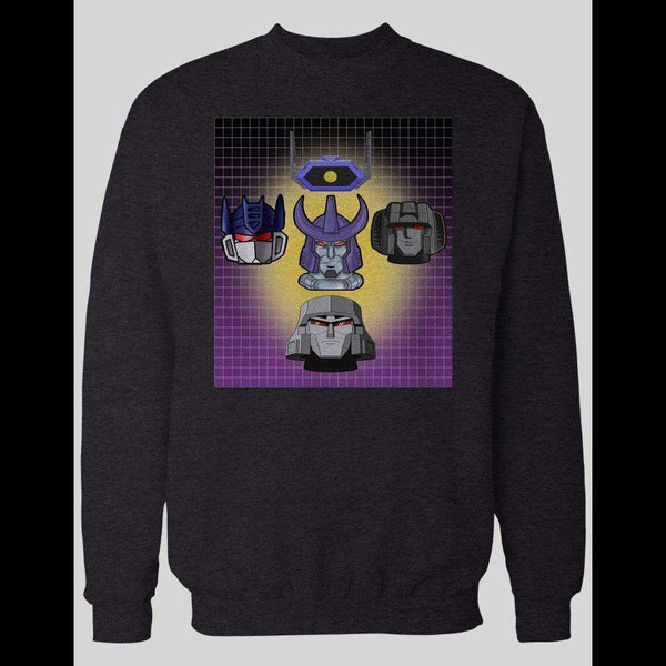 TRANSFORMERS DECEPTICON RHAPSODY INSPIRED HOODIE / SWEATER - Old Skool Shirts