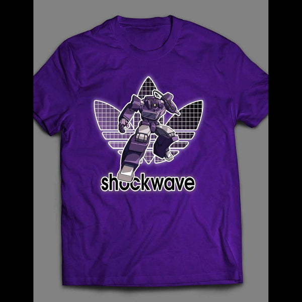 TRANSFORMERS DECEPTICON SHOCKWAVE ATHLETIC WEAR INSPIRED T-SHIRT - Old Skool Shirts