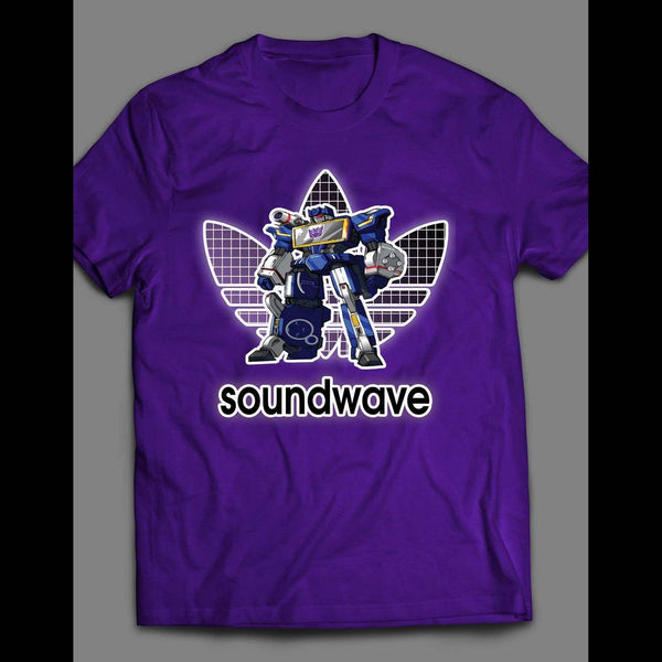 TRANSFORMERS DECEPTICON SOUNDWAVE ATHLETIC WEAR INSPIRED SHIRT - Old Skool Shirts