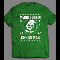 "UFC /MMA CONOR MCGREGOR ""MERRY FOOKING CHRISTMAS"" SHIRT - Old Skool Shirts"