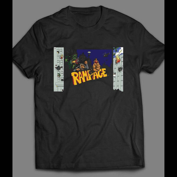 VINTAGE ARCADE RAMPAGE GAME SHIRT - Old Skool Shirts