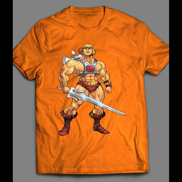 VINTAGE CARTOON HE-MAN ART T-SHIRT