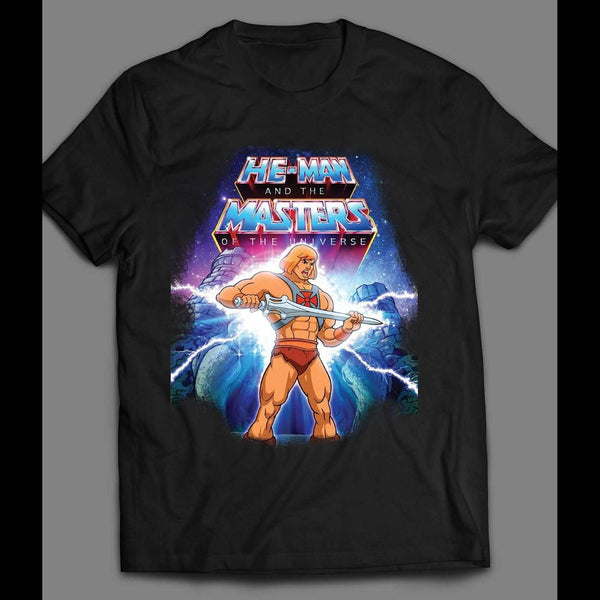 VINTAGE CARTOON HE-MAN I HAVE THE POWER ART T-SHIRT