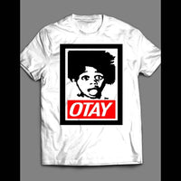 "VINTAGE LITTLE RASCALS BUCKWHEAT OBEY STYLE ""OTAY"" SHIRT - Old Skool Shirts"