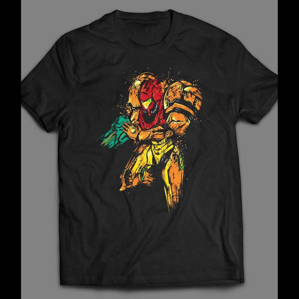 VINTAGE VIDEOGAME METROID ART SHIRT - Old Skool Shirts