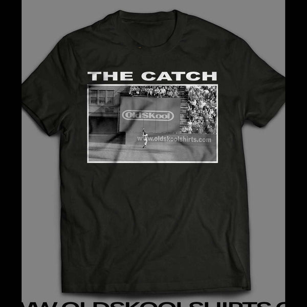 WILLIE MAYS THE CATCH OLDSKOOL VINTAGE SHIRT - Old Skool Shirts