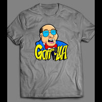 PRO WRESTLING COMMENTATOR GORILLA MONSOON VINTAGE SHIRT - Old Skool Shirts