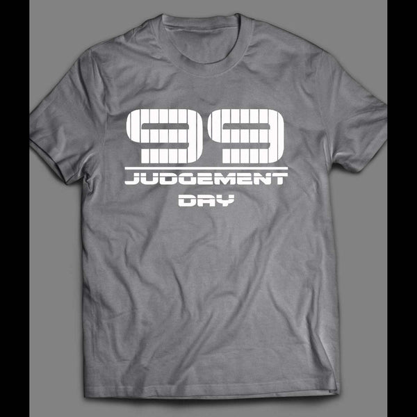 YANKEES AARON JUDGE #99 JUDGEMENT DAY T-SHIRT - Old Skool Shirts