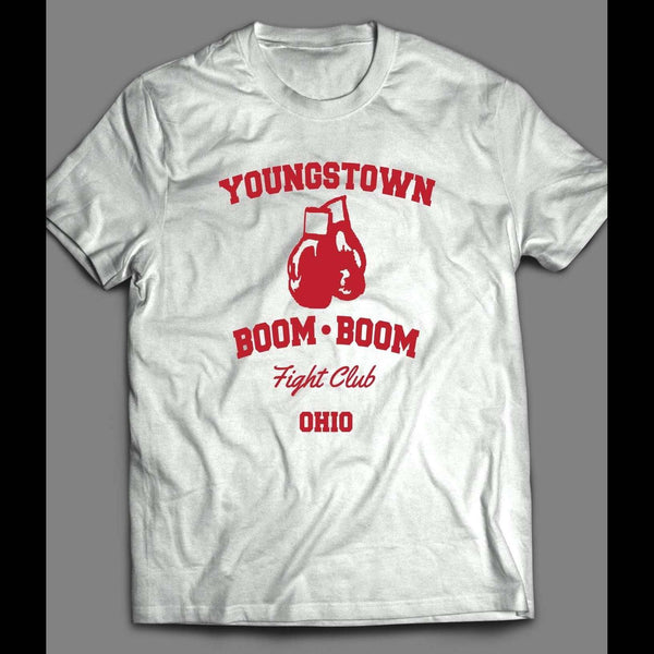 YOUNGSTOWN BOOM BOOM FIGHT CLUB VINTAGE BOXING SHIRT - Old Skool Shirts