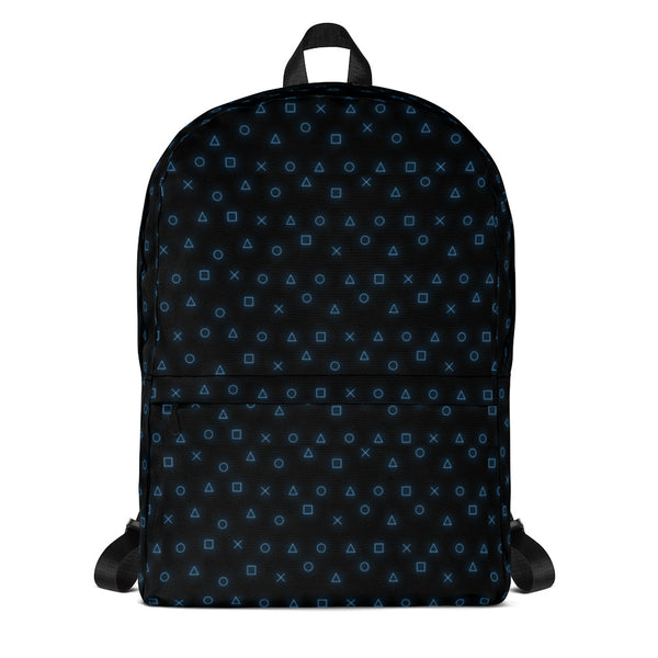 GAMING CONSOLE BUTTONS PATTERN ALL OVER PRINT BACKPACK