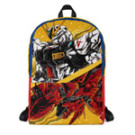 DUAL MECH WARRIORS ANIME ALL OVER PRINT BACKPACK