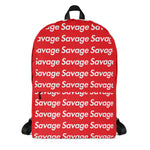 SAVAGE PATTERN ALL OVER PRINT BACKPACK