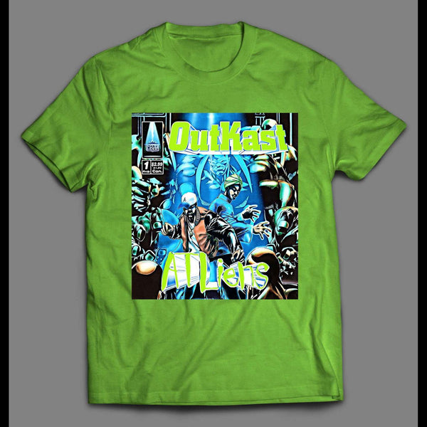 "HIP HOP GROUP ALBUM ""ATLIENS"" COVER SHIRT"