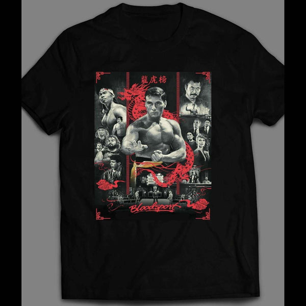 BLOOD SPORT MOVIE POSTER SHIRT - Old Skool Shirts