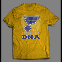YOUTH SIZE ST. LOUIS HOCKEY IT'S IN MY DNA ART KIDS SHIRT - Old Skool Shirts