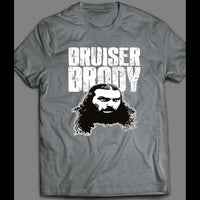 1980'S PRO WRESTLER BRUISER BRODY WRESTLING DARK SIDE OF THE RING OLDSKOOL SHIRT - Old Skool Shirts