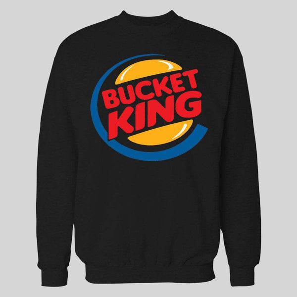BUCKET KING PARODY BASKETBALL SWEATER/ HOODIE - Old Skool Shirts