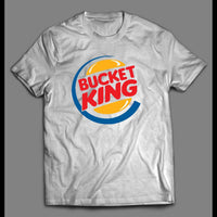 BUCKET KING PARODY BASKETBALL SHIRT - Old Skool Shirts