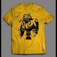 YOUTH SIZE BUMBLE BEE TRANSFORMER MOVIE ART SHIRT - Old Skool Shirts