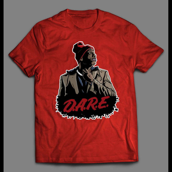 DAVE CHAPPELLE'S TYRONE BIGGUMS D.A.R.E. PARODY SHIRT - Old Skool Shirts