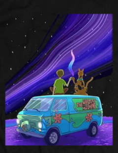 SHAGGY X SCOOBY PASSING THE DOOBIE CARTOON PARODY WINTER HOODIE