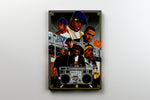 "EAST COAST HIP HOP ARTIST PAINTING 11"" X 14"" CANVAS - Old Skool Shirts"