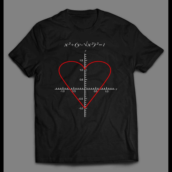 THE EQUATION OF LOVE VALENTINE'S DAY SHIRT - Old Skool Shirts