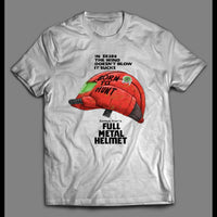 FULL METAL HELMET METROID PARODY HIGH QUALITY SHIRT - Old Skool Shirts