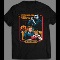 MICHAEL MYERS HALLOWEEN WATCHOUT SHIRT - Old Skool Shirts