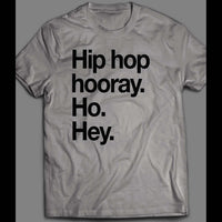 NAUGHTY BY NATURE OLDSKOOL HIP HOP HURRAY LYRICS SHIRT - Old Skool Shirts