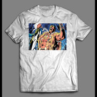 COMIC BOOK VILLAIN THE HUNTER CUSTOM ART SHIRT - Old Skool Shirts