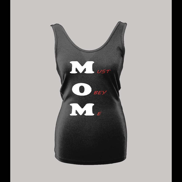 MOM OBEY LADIES TANK TOP