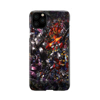 TF ROBOTS BATTLE SCENE CELL PHONE CASE FOR SELECT IPHONES AND GALAXY