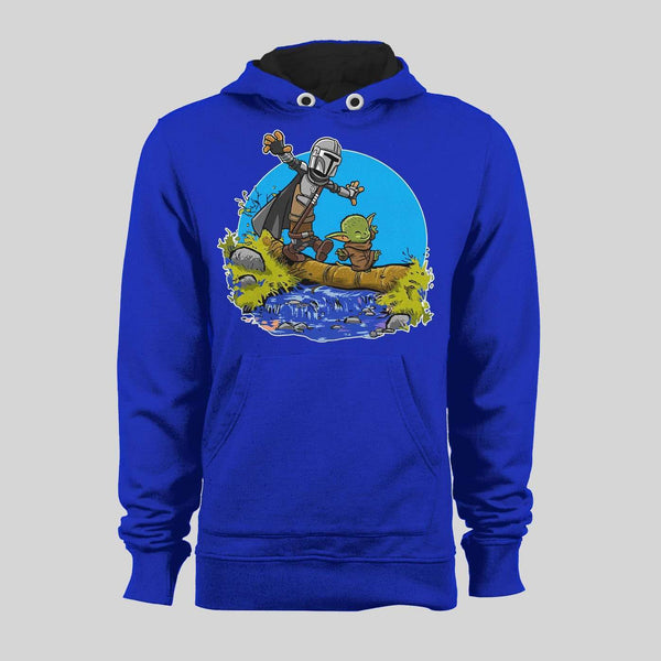 THE HUNTER & BABY ALIEN HOODIE /SWEATER - Old Skool Shirts