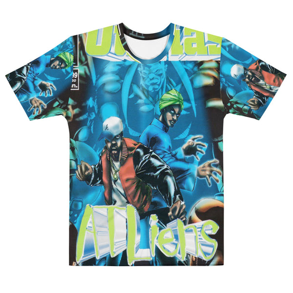 HIP HOP GROUP OUTKAST ATLIENS ALBUM COVER ALL OVER PRINT SHIRT