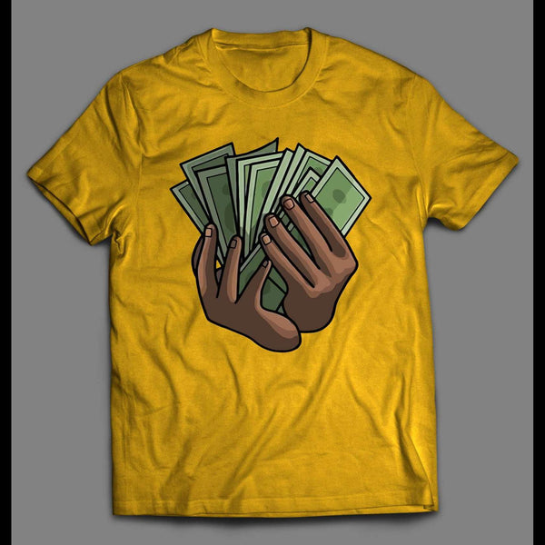 I MAKE IT RAIN HIGH QUALITY OLDSKOOL SHIRT